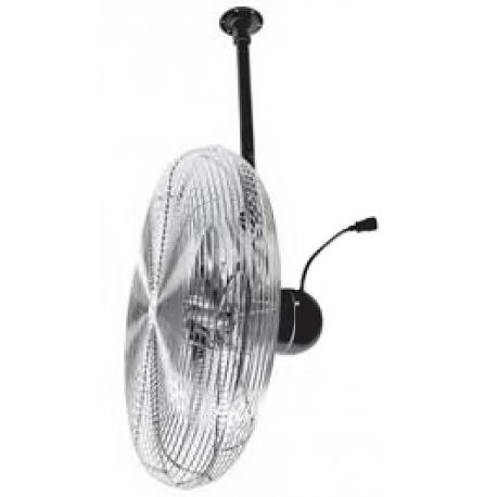 "24"" Heavy Duty Non-Oscillating Ceiling Mounted Fans"