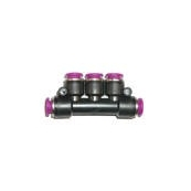 Push-In Air Fitting Manifold Union 1/8""