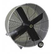 """48"""" ventilador de impulsión de correa portable"""
