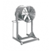 24 «aire Blasters alto Stand, de 1 HP