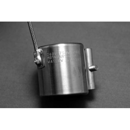 "1-3/4"" ID 2""W Nozzle Heater 750w 240v"