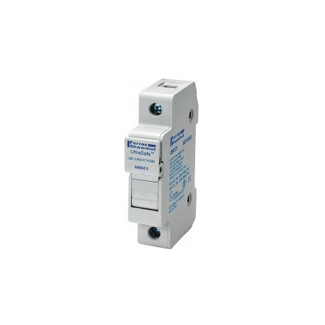 30A 1P 600V-ac~dc Ultrasafe Fuse Holder