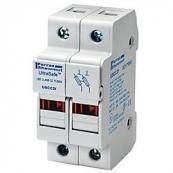 30A 2P 600V ac~dc Ultrasafe Class CC Fuse Holder