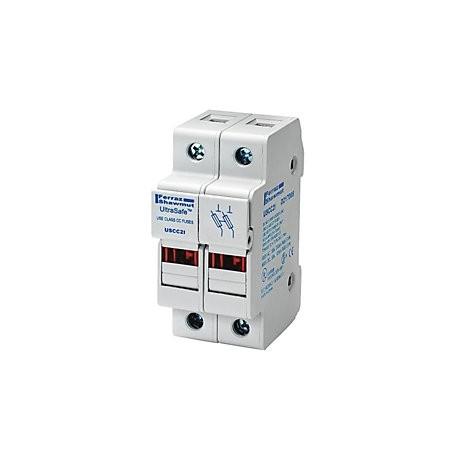 30A 2P 600V-ac~dc Ultrasafe Fuse Holder