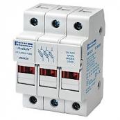 30A 3P 600V ac~dc Ultrasafe Class CC Fuse Holder
