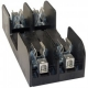 100A 2P 600V ac~dc Class J Fuse Block