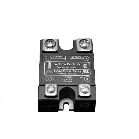 25A SPST N/O 240Vac Power 3~32Vdc Control