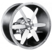 "24"" Propeller Axial Tube Fan 1/3-HP 3PH"