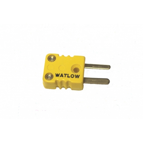Minature Male Plug 'K' Thermocouple