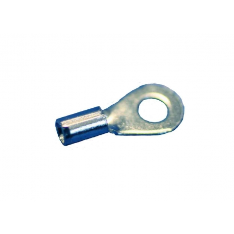 16-14 Wire Gauge No.8 Stud Ring Terminal