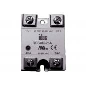 25A SPST N/O 600Vac Power 90~280Vac Control