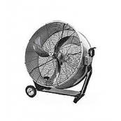 "30"" Portable Barrel Direct Drive Air Circulator Fan"