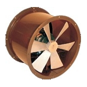 "24"" Propeller Axial Tube Fan 1-HP 1PH"