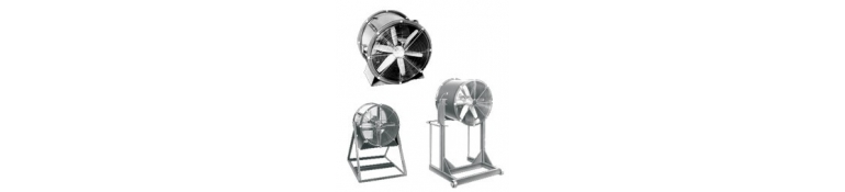 Ventiladores portátiles industriales pesados