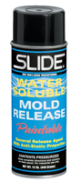 Slide 41212N Water Soluble Mold Release Aerosol Can
