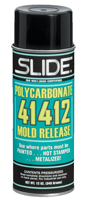 Slide Polycarbonate 41412N Mold Release Aerosol Can