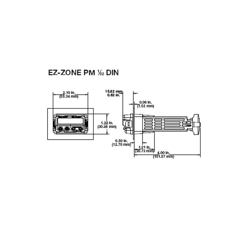 WATLOW EZ-ZONE PM3C1CJ-AAAABAA   1/32-DIN 2-Outputs on