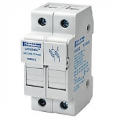30A 2P 600V-ac~dc Ultrasafe Fuse Holder