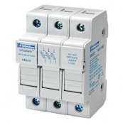30A 3P 600V-ac~dc Ultrasafe Fuse Holder
