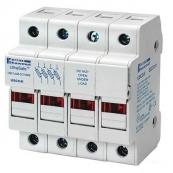 30A 4P 600V ac~dc Ultrasafe Class CC Fuse Holder