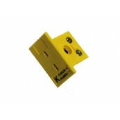 Minature Female Panel Jack 'K' Thermocouple