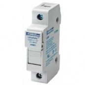 30A 1P 600V ac~dc Ultrasafe Midget Fuse Holder