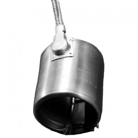 """1-1/2"""" ID"""" W 2 boquilla calentador de 200w 120v"""