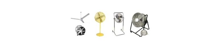Ventiladores / sopladores / ventilaciones