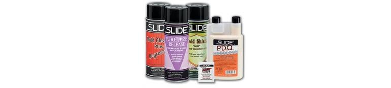 Productos para uso en el moldeado de plásticos