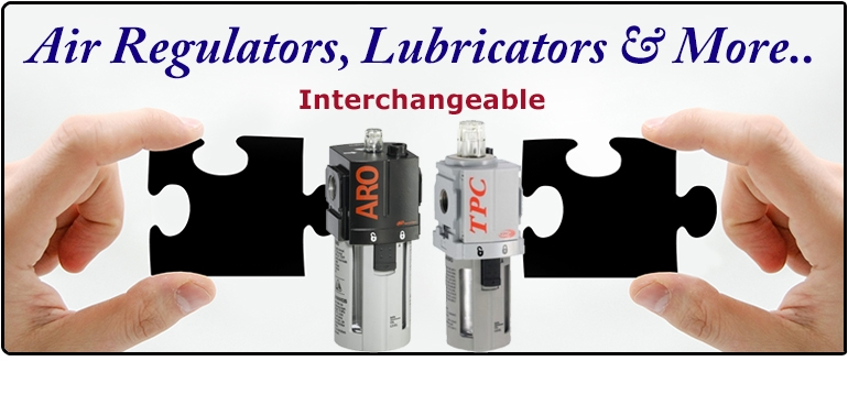 Interchangeable Air Regulators, Filters, Lubricators & More..